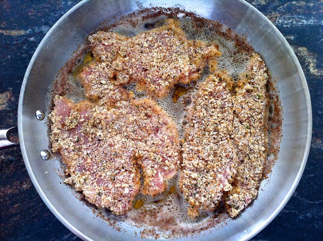 More Breaded Chicken Added to Hot Pan