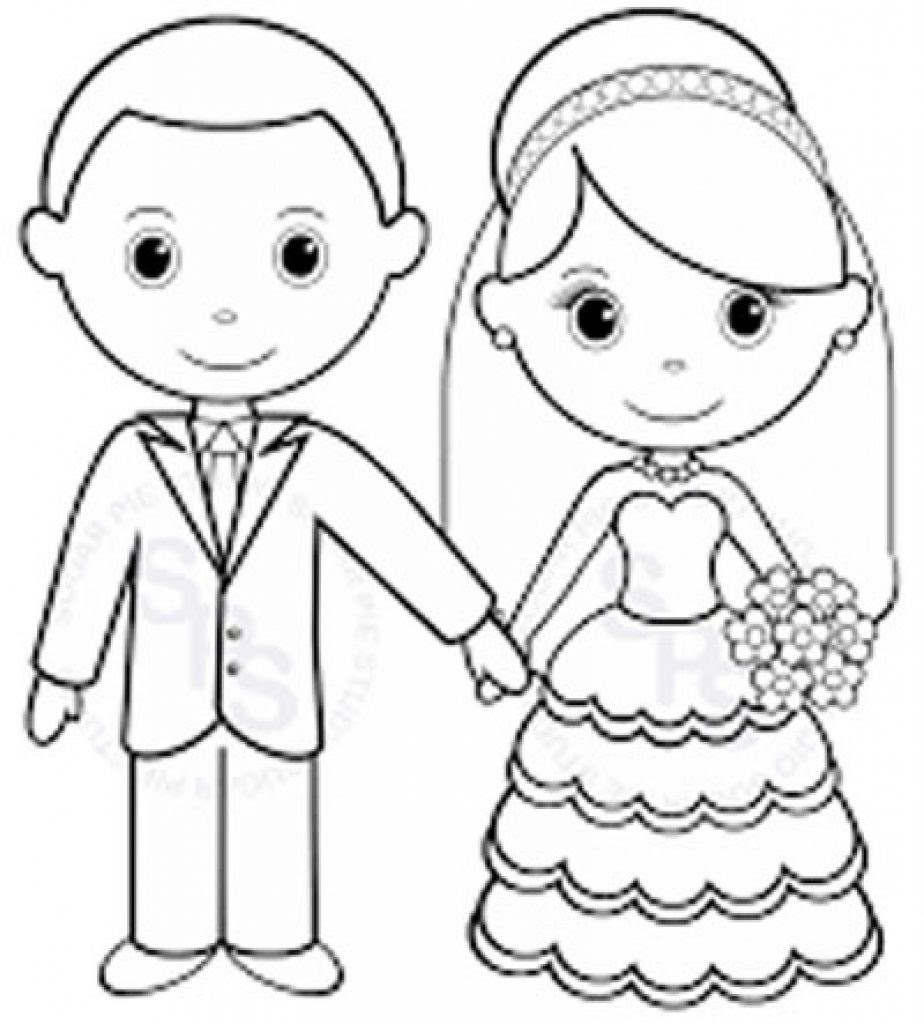 Printable Wedding Coloring Pages at GetColorings.com ...