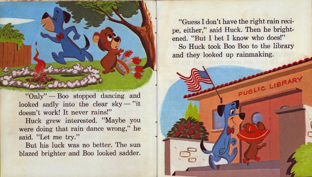Huckleberry Hound the Rainmaker004