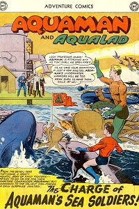 Adventure #284 Aquaman Splash Page