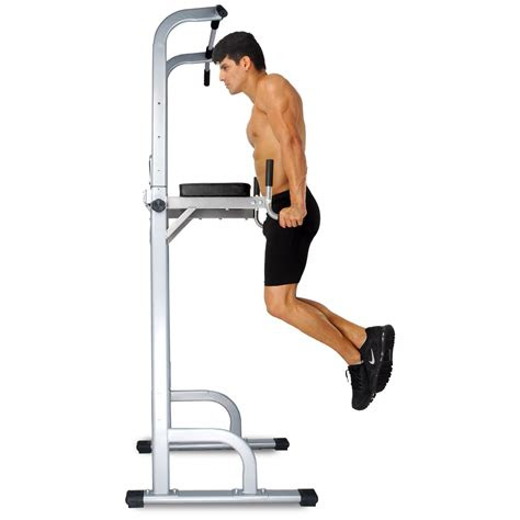adjustable pull  bar strength fitness power tower