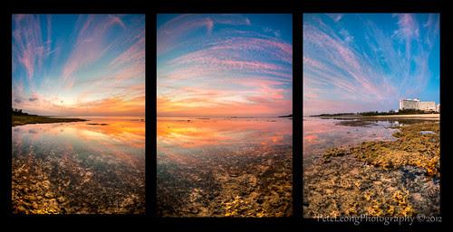 Magic Okinawa Sunset by Shenanigans in Japan