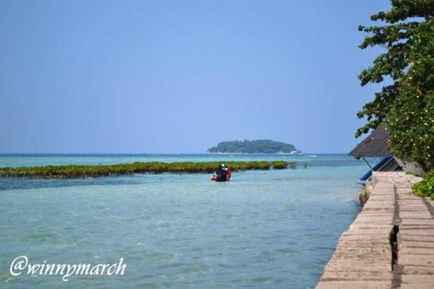 Pemandangan Pulau  Pramuka