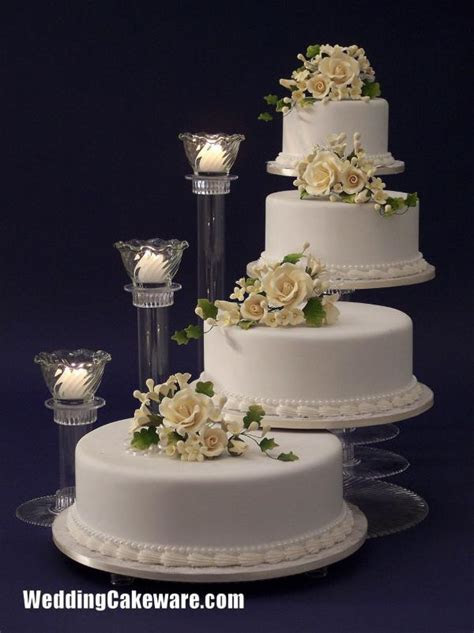 Four tier wedding cake stand   idea in 2017   Bella wedding