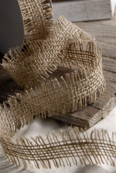 Burlap Ribbon Open Weave 1.5in x 10yds