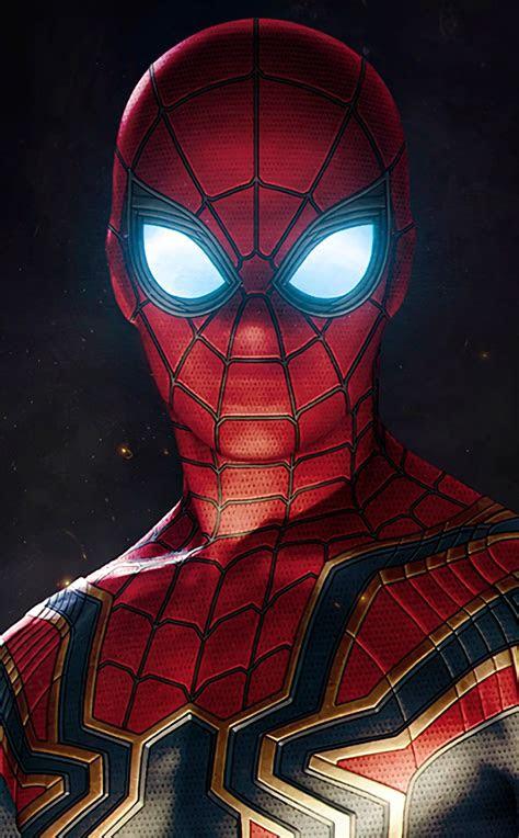 spiderman  infinity war hd  wallpaper
