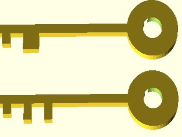 Printable Keys - Scalien