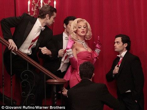 Fantasy: O programa contará com a 24-year-old vestida como a atriz tarde como parte de uma sequência de sonho