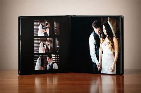 Signature Wedding Albums   Top Colorado Mountain Wedding