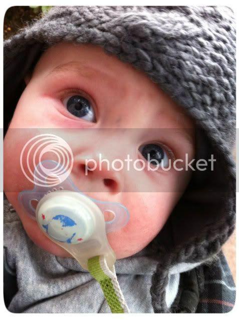 Bjarne mit 7 Monaten