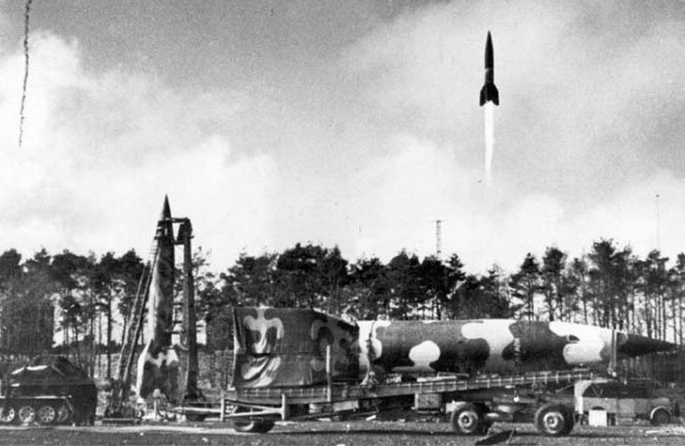 Von Braun, mi supervillano favorito - Lanzamiento de V2 desde Bélgica