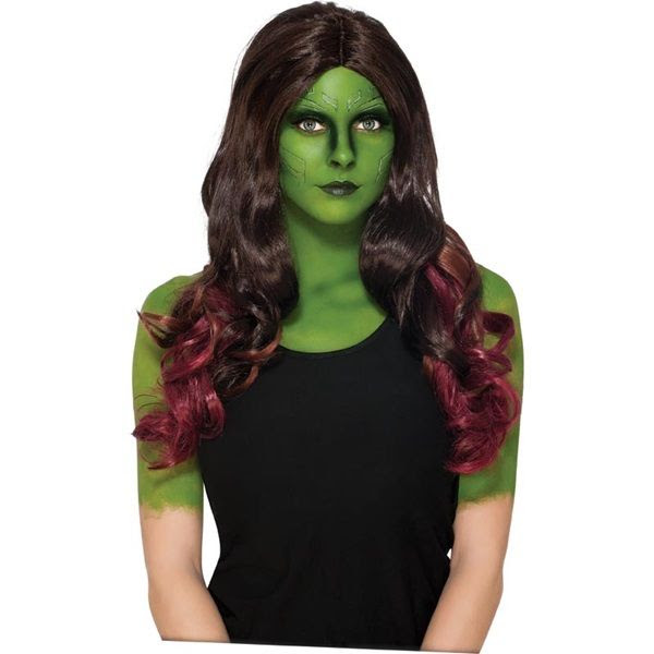 Gamora Wig   Costume Accessories