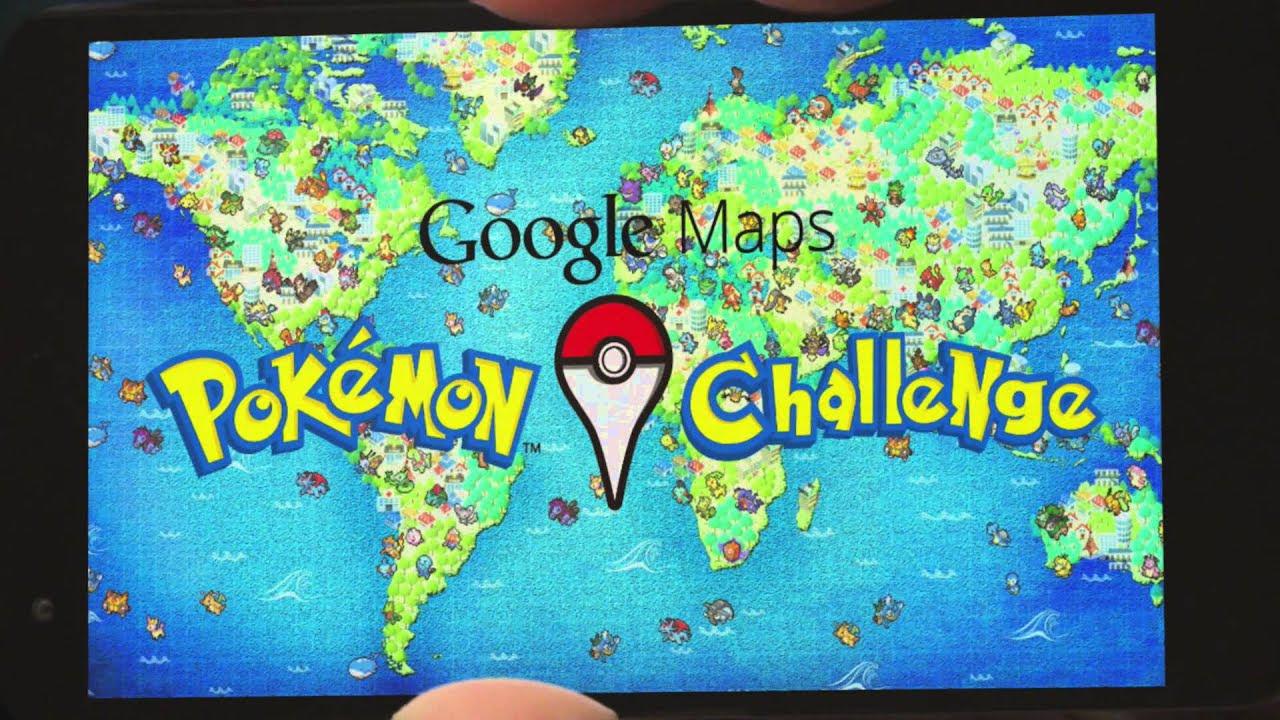 Maps pokmon challenge youtube google maps pokmon challenge youtube gumiabroncs Images