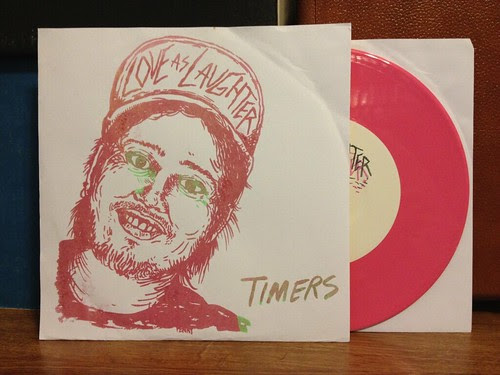 "Love As Laughter - Timers 7"" by Tim PopKid"