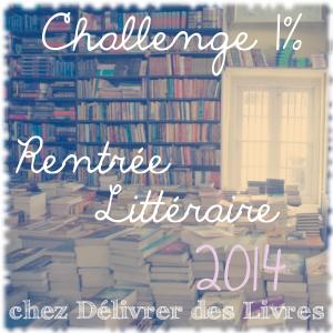 challenge rentrée littéraire 2014 1% logo
