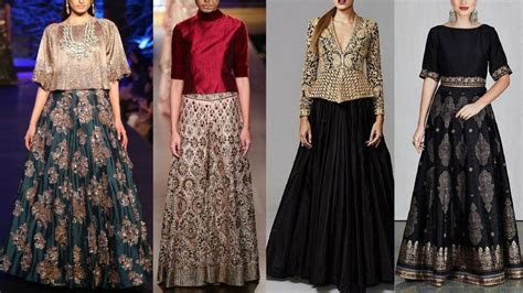 Latest Indo western Wedding outfits ideas for coctail