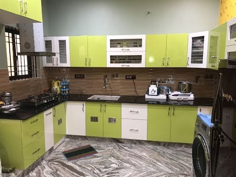 High Gloss Finish for Ramya Modular Kitchen & Interiors'   Mr. R S Gopin...