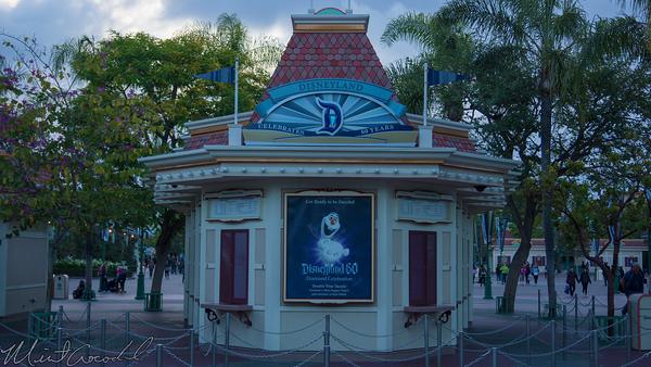 Disneyland Resort, Disneyland60, 60, Anniversary, 24, Hour, Party, Celebration, Kick, Off, Disneyland, Disney California Adventure, Ticket, Booth