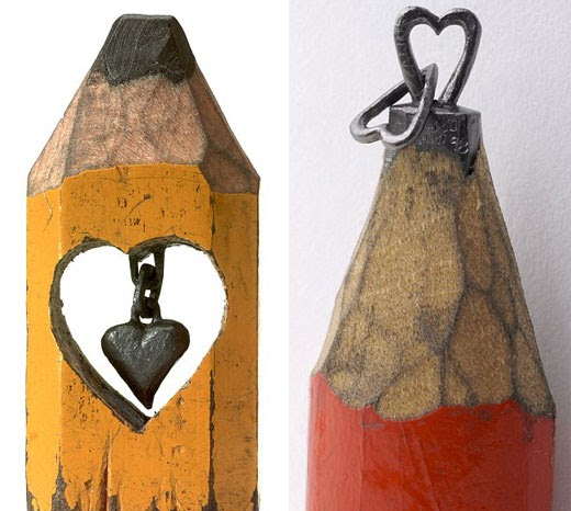 Life is a box of chocolates! : Amazing Pencil Carvings - photo#20
