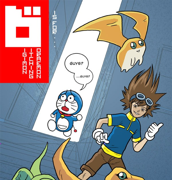 Neill's Blog: D Is For... Digimon Ditching Doraemon