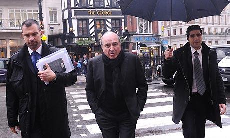 Borís Berezovski en Londres