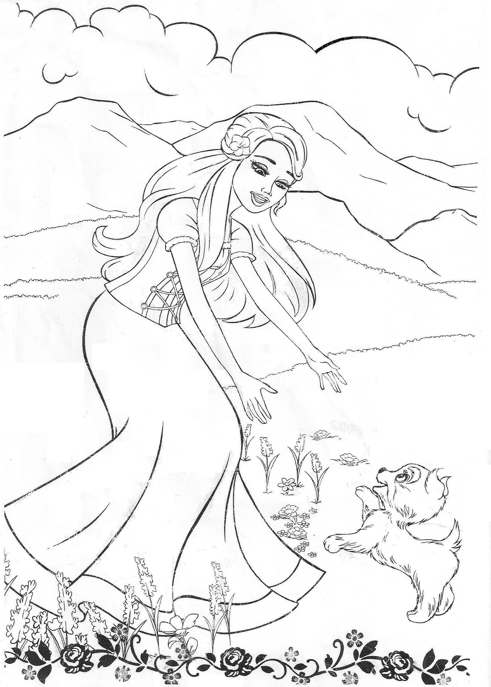 - Free Printable Barbie Coloring Pages For Kids - Coloring Pages