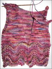Feather & Fan Baby Sweater, 5/12