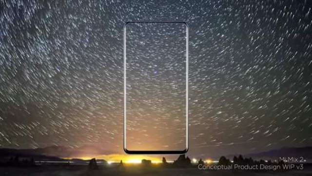 Xiaomi Mi Mix 2 Bezel-less Showdown Concept