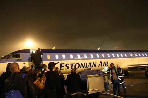 Taking the Estonian Air
