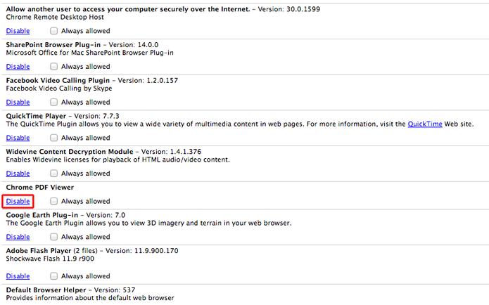 Desabilitando o plugin Crhome PDF Viewer (Foto: Reprodução/Marvin Costa)