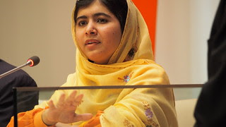 Malala Yousafzai, Youth advocate for Education, in New York