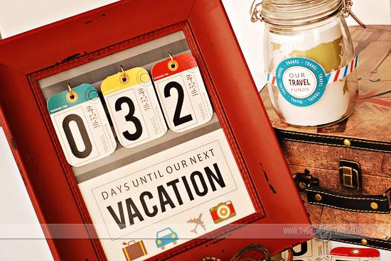 DIY Vacation Countdown