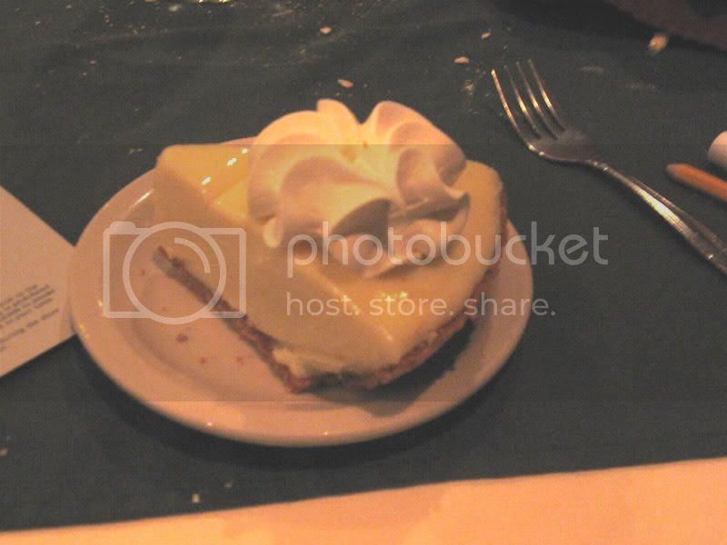 Sleuths Mystery Dinner Show Key Lime Pie