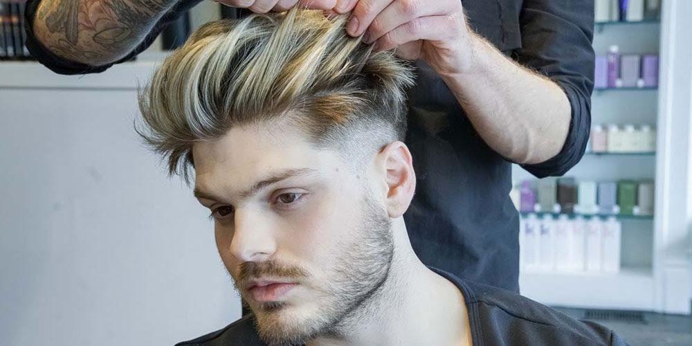 Beste Frisuren Für Männer Mit Dickem Haar 2018 Friseur Konstanz