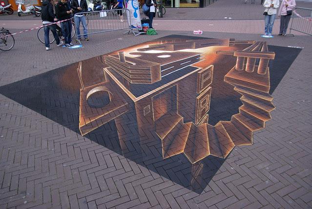 3D Street Painting Art