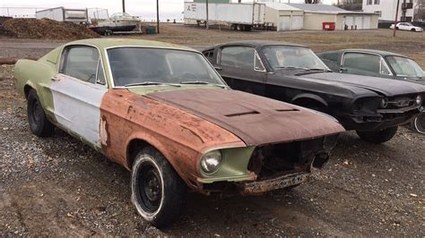 complete  ford mustang fastback project  sale