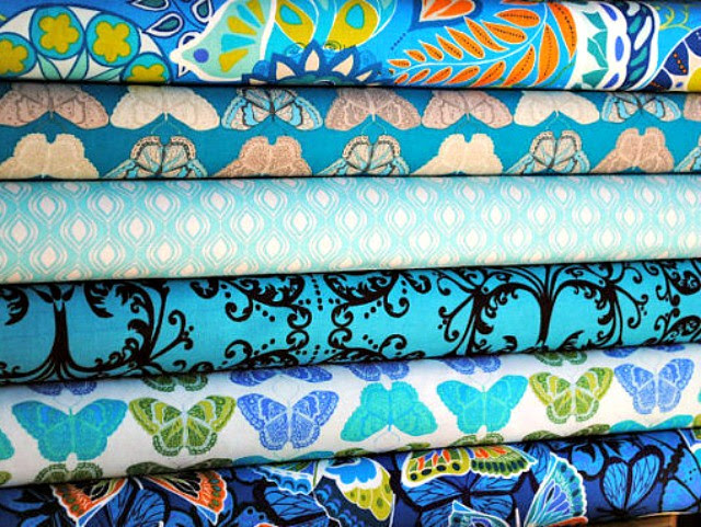 Cocoon FQ Bundle -- For Friday's Fabric Giveaway with Sprightly Fabrics!