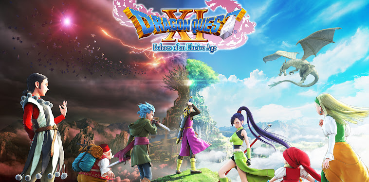 Dragon Quest Xi Wallpaper