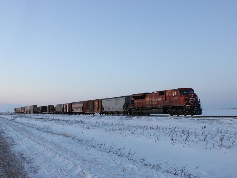 CP 9150 near Meadows MB