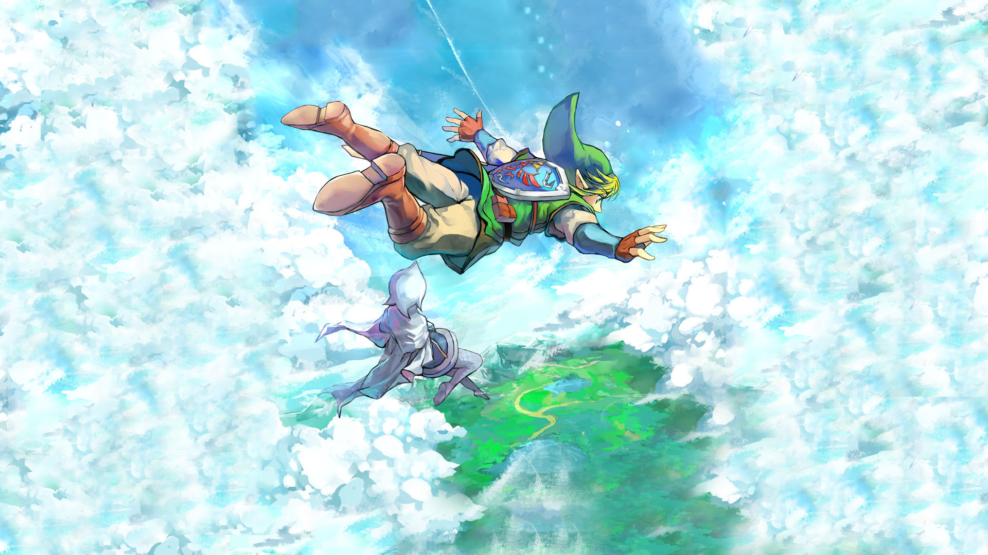 Zelda Skyward Sword Wallpaper 75 Images