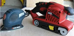 Mouse Sander and Belt Sander