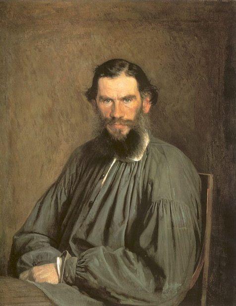 Leo Tolstoy (Ivan N. Kramskoy)