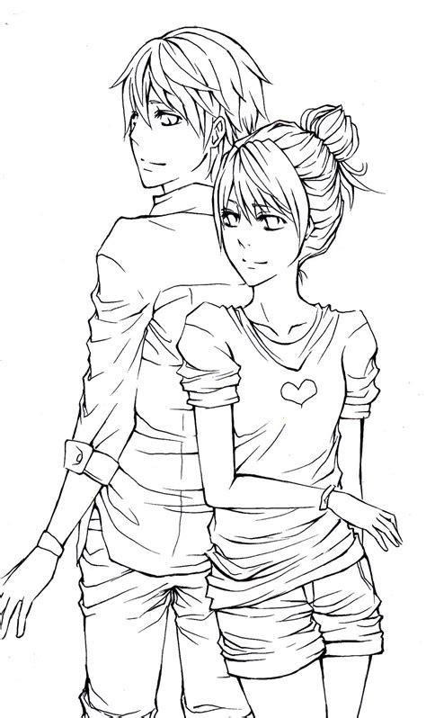 pin  kirito  anime couples couple drawings tumblr