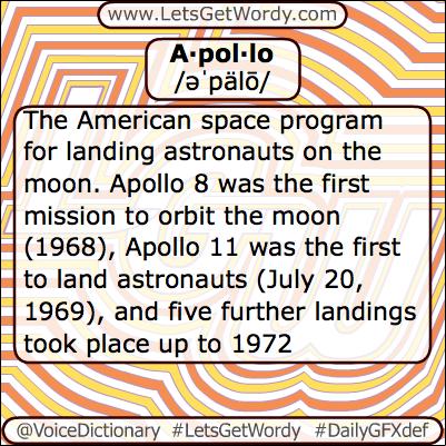 Apollo 05/05/2013 GFX Definition of the Day