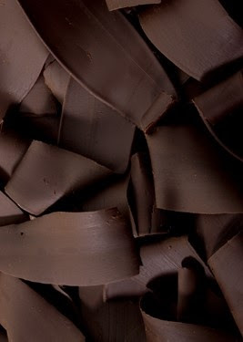 Color Chocolate - Chocolate!!! dark chocolate shavings