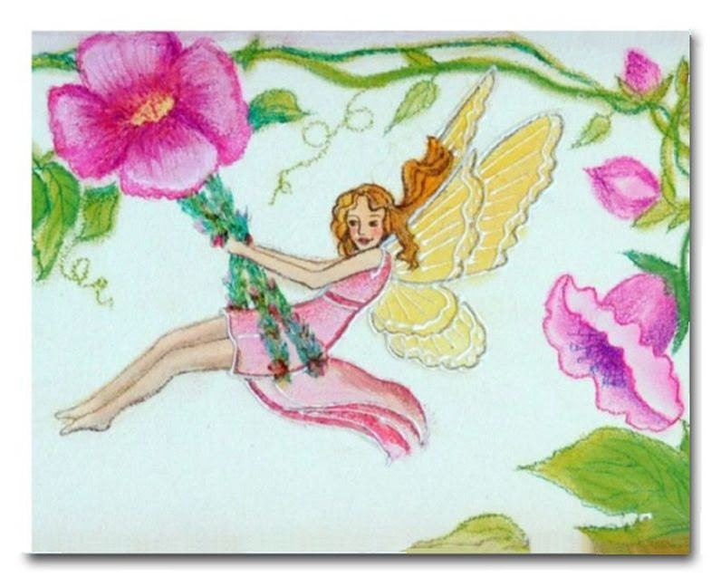 Fairies Nursery Decor, Art Print Fairy, Nursery Wall Art, Baby Girl Nursery, Fairies Baby room, Girls room Decor, Fairies Art - handpainting
