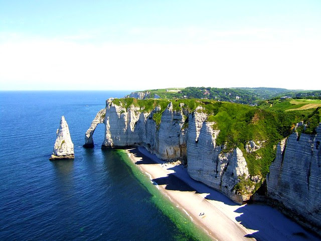 Cliffs at Etretat