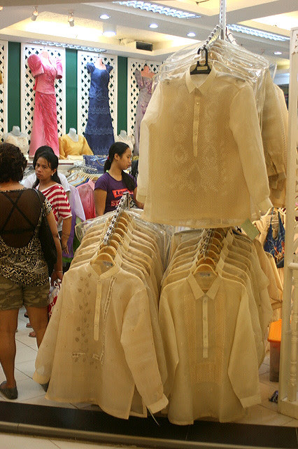 Get your barongs here!