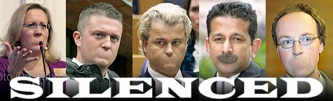 Silenced: Elisabeth Sabaditsch-Wolff, Tommy Robinson, Geert Wilders, Danny Nalliah, Jussi Halla-aho