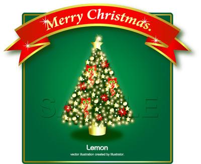 クリスマスツリーイラスト無料 クリスマスツリー